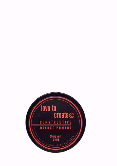 Our strong hold pomade, can shape and style as required to achieve a classic high gloss finish.